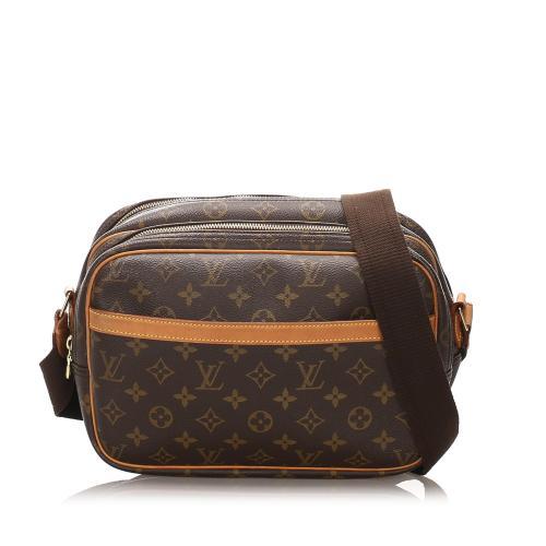 Louis Vuitton Monogram Canvas Reporter PM Shoulder Bag