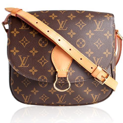 Louis Vuitton Monogram Saint Cloud Shoulder Handbag