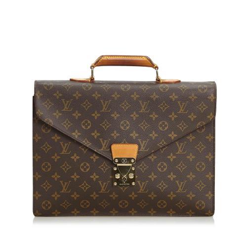 Louis Vuitton Monogram Canvas Serviette Conseiller Briefcase
