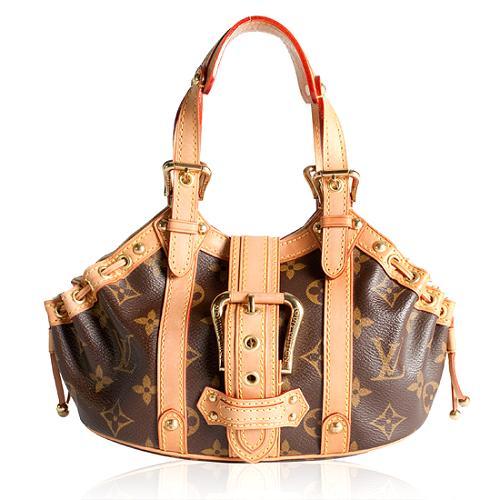 Louis Vuitton Monogram Theda PM Satchel Handbag