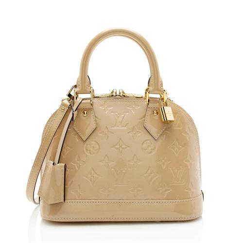 Louis Vuitton Monogram Vernis Alma BB Satchel