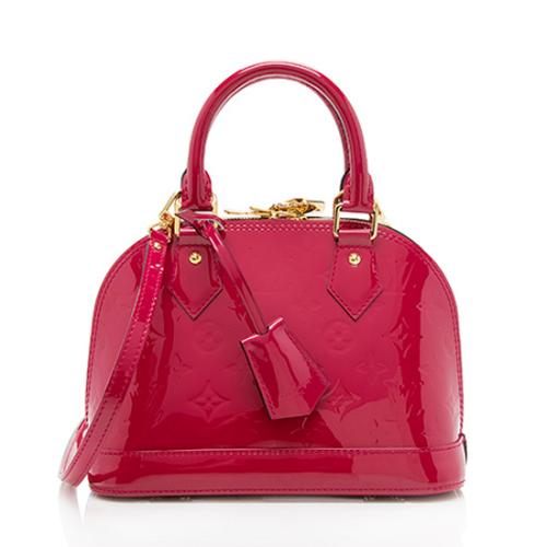 Louis Vuitton Monogram Vernis Alma BB Shoulder Bag