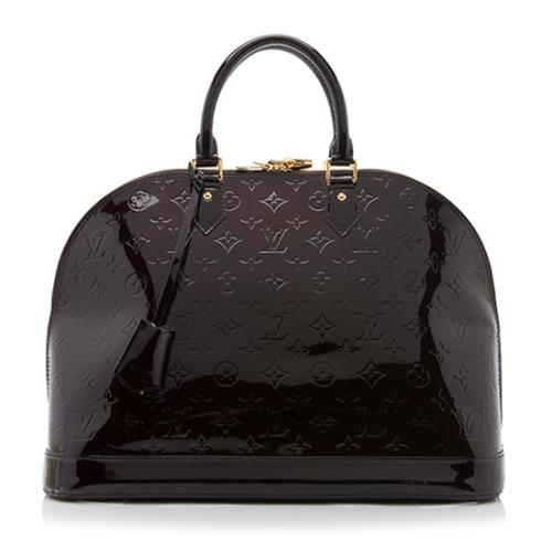 Louis Vuitton Monogram Vernis Alma GM Satchel