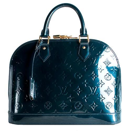 Louis Vuitton Monogram Vernis Alma PM Satchel Handbag