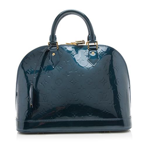 Louis Vuitton Monogram Vernis Alma PM Satchel