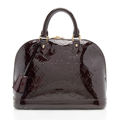 e9d830de929d Louis-Vuitton-Monogram-Vernis-Alma-PM-Satchel- 98735 front large 0.jpg