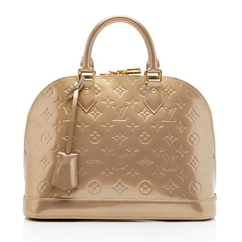 Louis Vuitton Monogram Vernis Alma PM Satchel