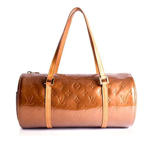 Louis Vuitton Monogram Vernis Bedford Satchel Handbag