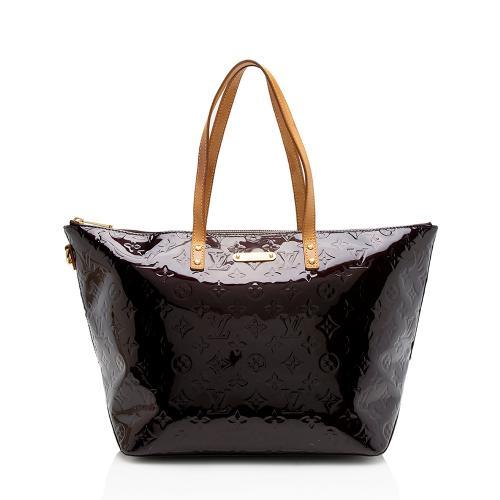 Louis Vuitton Monogram Vernis Bellevue GM Tote
