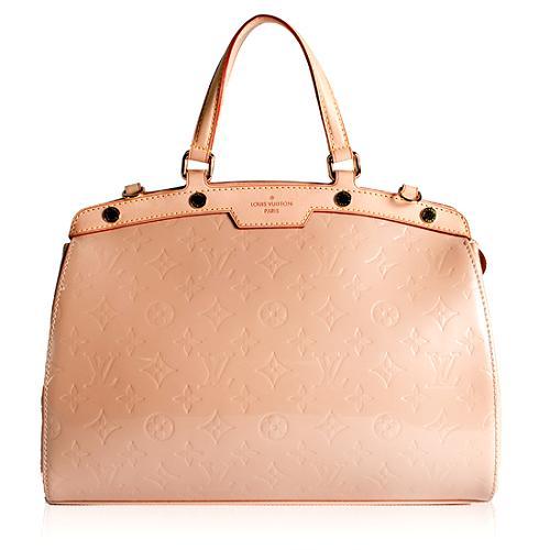 Louis Vuitton Monogram Vernis Brea GM Satchel Handbag