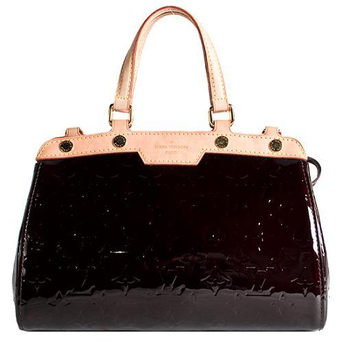 Louis Vuitton Monogram Vernis Brea MM Satchel Handbag