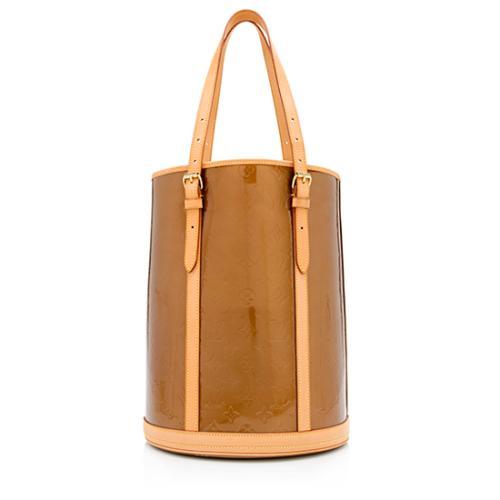 Louis Vuitton Monogram Vernis Bucket GM Tote