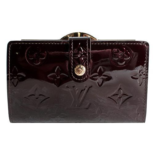 Louis Vuitton Monogram Vernis French Purse Wallet