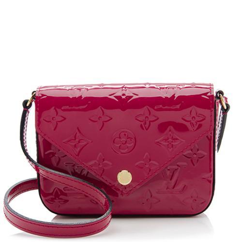 Louis Vuitton Monogram Vernis Mini Sac Lucie Shoulder Bag