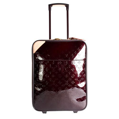 Louis Vuitton Monogram Vernis Pegase 50 Suitcase