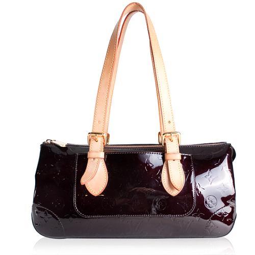 Louis Vuitton Monogram Vernis Rosewood Shoulder Handbag