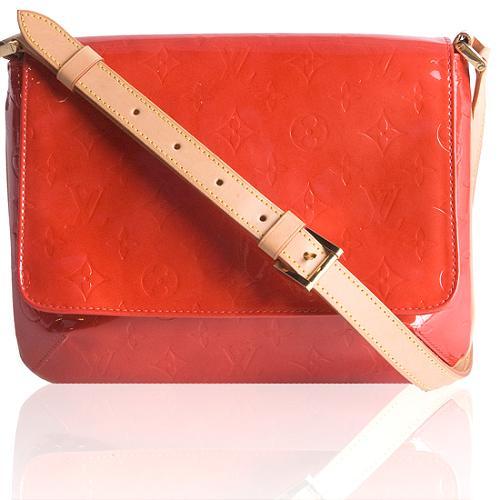 Louis Vuitton Monogram Vernis Thompson Street Shoulder Handbag