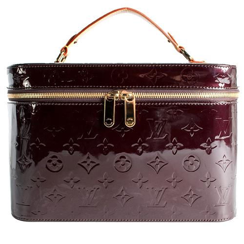 Louis Vuitton Monogram Vernis Vanity GM Beauty Case