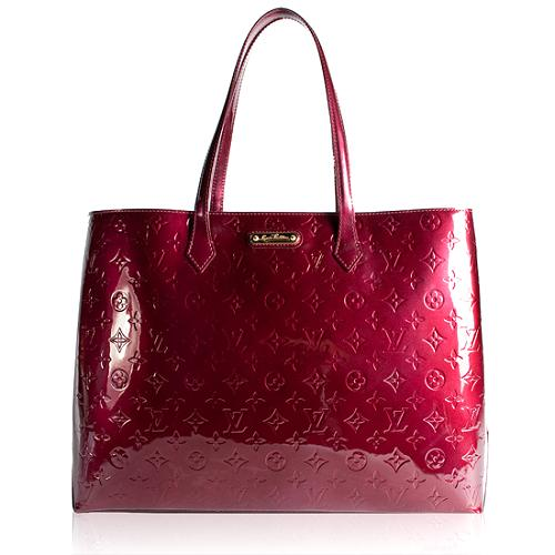Louis Vuitton Monogram Vernis Wilshire GM Tote