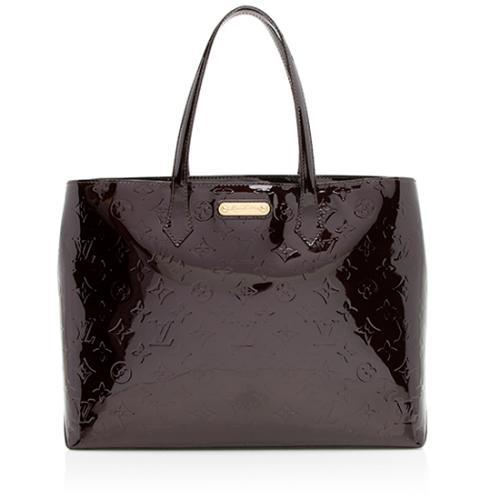 Louis Vuitton Monogram Vernis Wilshire MM Tote