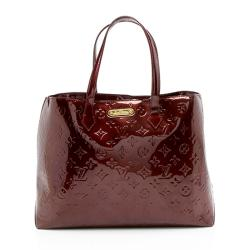 Louis Vuitton Monogram Vernis Wilshire MM Tote