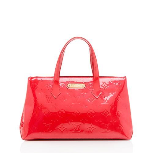 Louis Vuitton Monogram Vernis Wilshire PM Satchel