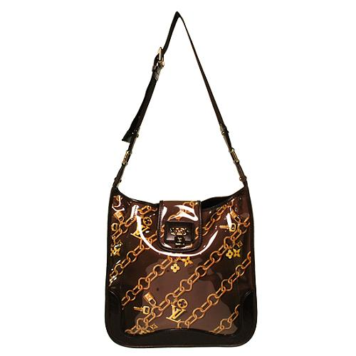 Louis Vuitton Musette Monogram Charms Messenger Handbag