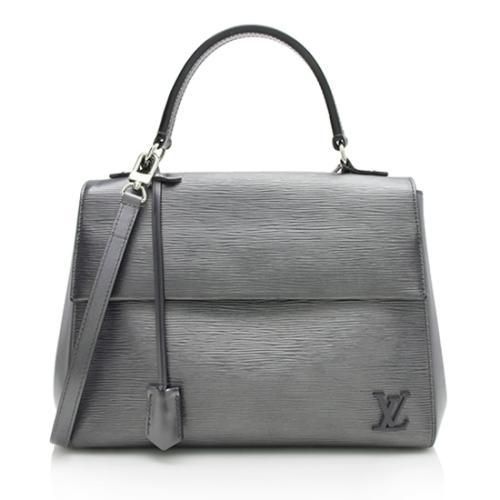 Louis Vuitton Nacre Epi Leather Cluny MM Satchel