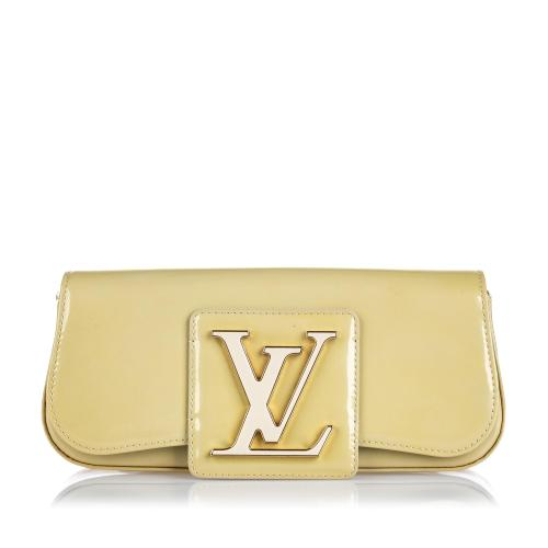 Louis Vuitton Patent Leather Sobe Clutch
