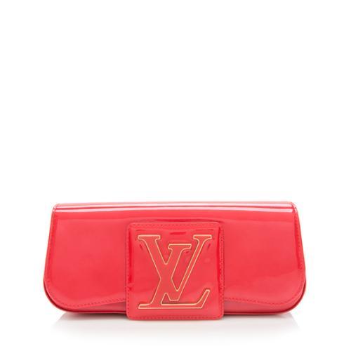 Louis Vuitton Patent Leather Sobe Clutch