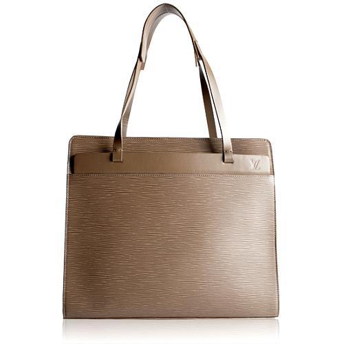 Louis Vuitton Pepper Epi Leather Croisette Shoulder Handbag