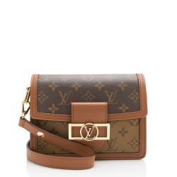 Louis Vuitton Reverse Monogram Mini Dauphine Shoulder Bag