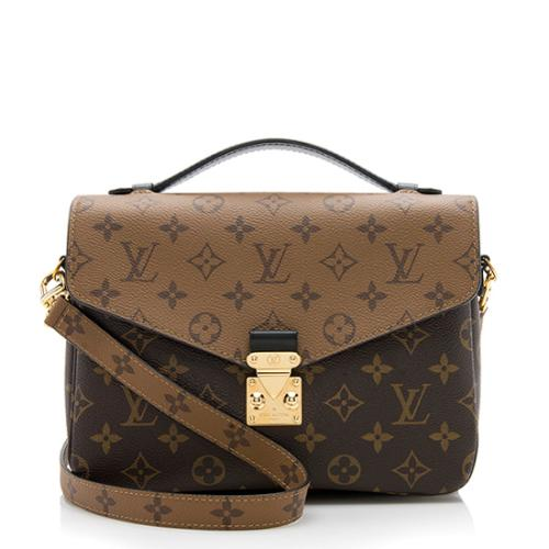 Louis Vuitton Reverse Monogram Pochette Metis Shoulder Bag