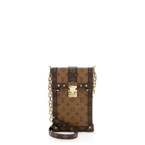 Louis Vuitton Reverse Monogram Pochette Trunk Vertical Shoulder Bag