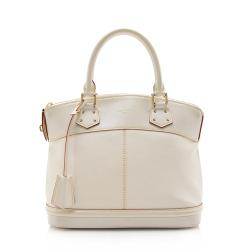 Louis Vuitton Suhali Leather Lockit PM Satchel