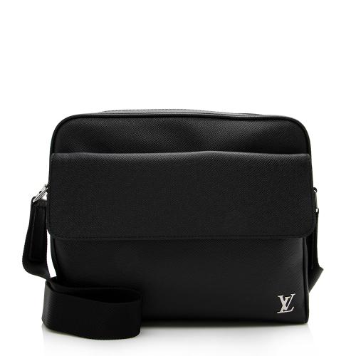 Louis Vuitton Taiga Leather Alex PM Messenger Bag