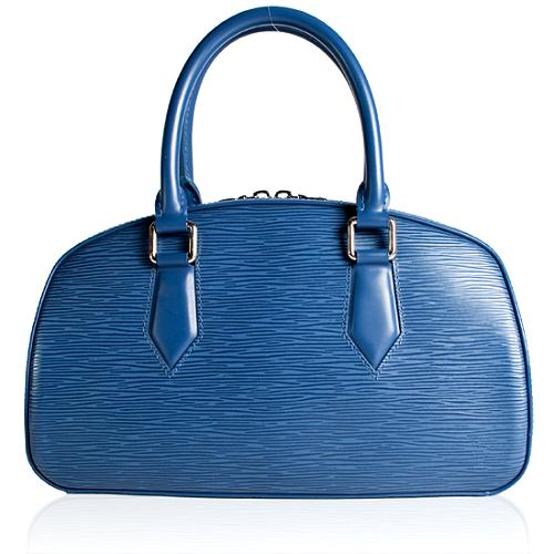 Louis Vuitton Toledo Blue Epi Leather Jasmin Satchel Handbag