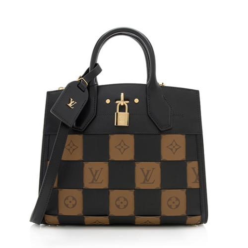 Louis Vuitton Truffage City Steamer PM Satchel