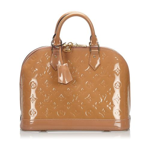 Louis Vuitton Vernis Alma PM Satchel