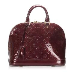 Louis Vuitton Vernis Alma PM Satchel