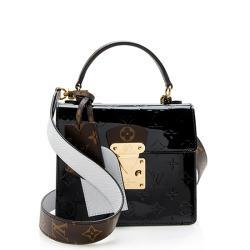Louis Vuitton Vernis Spring Street Bitume Satchel