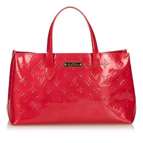 Louis Vuitton Vernis Wilshire PM Satchel