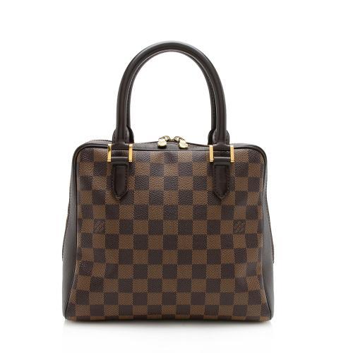 Louis Vuitton Vintage Damier Ebene Brera Satchel