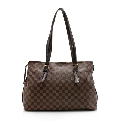 Louis Vuitton Vintage Damier Ebene Chelsea Tote
