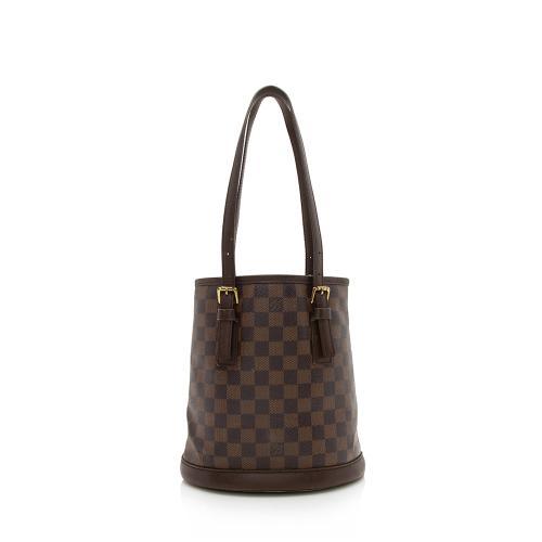 Louis Vuitton Vintage Damier Ebene Marais Bucket Tote - FINAL SALE