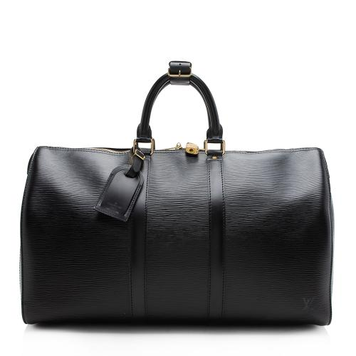 Louis Vuitton Vintage Epi Leather Keepall 45 Duffel Bag