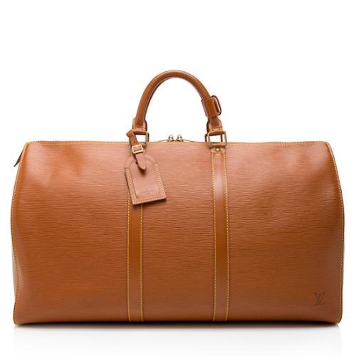 Louis Vuitton Vintage Epi Leather Keepall 50 Duffel Bag