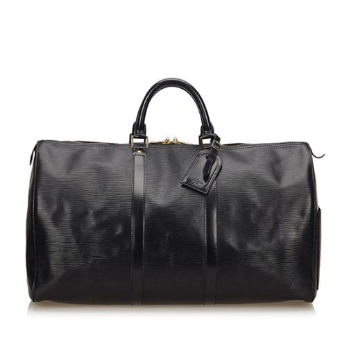Louis Vuitton Vintage Epi Leather Keepall 55 Duffel Bag