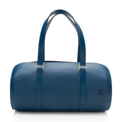 Louis Vuitton Vintage Epi Leather Soufflot Satchel