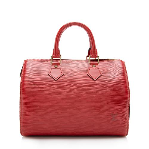 Louis Vuitton Vintage Epi Leather Speedy 25 Satchel